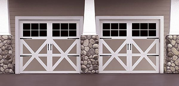 Carriage House Garage Door design
