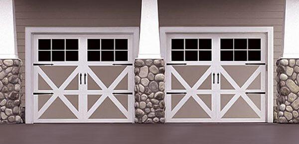 Carriage House Garage Door design